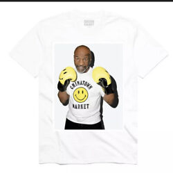 Chinatown Market Mike Tyson Photo Tee White Size M New In Hand Supreme
