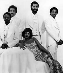 Zola Taylor And Platters Posed Studio Grouip Portrait 1970s Old Music Photo