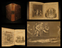 1830 John Foxe's Book Of Martyrs Acts And Monuments Malham Martyrology Foxe 2v In1