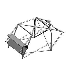 Omp Ab/106/243a Racing Roll Cage Mini One-cooper 03/01