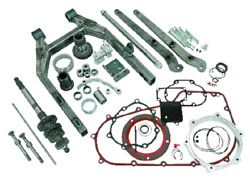 250 Complete Wide A Swing Arm Kit For Harley Dyna's 2012-2013