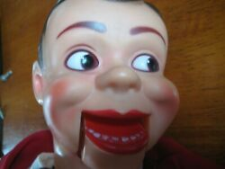 Vintage Ventriloquist Puppet Dummy Mouth Moving Jerry Mahoney