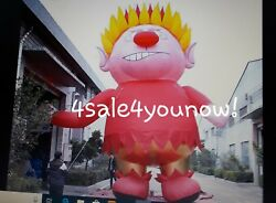 32' Foot Massive Christmas Inflatable Heat Miser Custom Made One Of A Kind