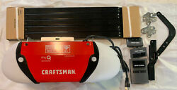 Craftsman 1/2 Hp Chain Drive Smart Wifi Garage Door Opener With Two Remotes