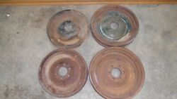 1926 1930 Chevy Truck 20 Front Disc Wheels Original Gm Pair 6 Lug