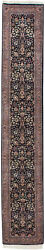 Rra 2.5x15 Carpet Runner 2and0397x14and0398 Indo Tabriz Navy Blue Rug 16852