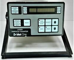 Hach/metone Met One 237a Portable Airborne Laser Particle Counter With Box