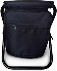 3 in 1 Backpack Cooler Chair Travel Backpack Soft Sided Cooler $28.77
