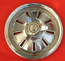 1964 Corvette Wheel Cover With Spinner. All Chrome, No Paint.