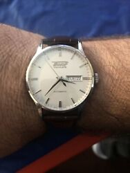Tissot T0194301603101 Heritage Visodate Automatic Mens Watch - Silver