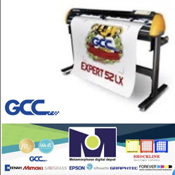 """Gcc Expert Ii-52 Lx Vinyl Cutter Plotter For Sign And Htv 52"""" Free Shipping"""