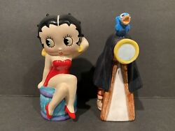 Betty Boop Posing Salt And Pepper Shakers Betty Boop Collectible King Features