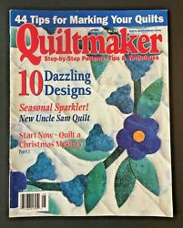 Quiltmaker Magazine - July/aug 2000 - Step-by-step Patterns - 74