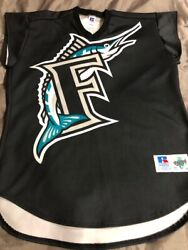 Rare Used Authentic Tatc Turn Ahead The Clock Lowell Florida Marlins Jersey - 48