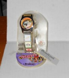 Vintage Rare Collectible Armitron The Powerpuff Girls Pink Jelly Band Watch