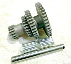 Wwii Dodge Wc 1/2 3/4ton 6x6nos Transmission Cluster Gear 598482 Bearing And Pin