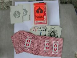 Sahara Hotel,las Vegas, Bee, 1980's Playing Cards, Complete,