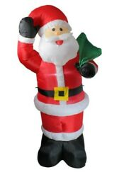 8 Ft Christmas Inflatable Santa Claus Outdoor Yard Decorations Holiday Ideasandnbsp