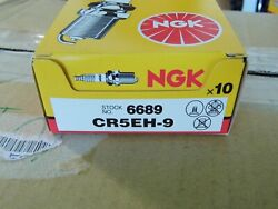 Box Of 10 Ngk Spark Plugs Cr5eh-9 6689