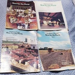 Lot 4 Vintage 1977 1973 The Drovers Journal Farm Pamphlet Magazines