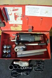 T-drill T55 Copper Pipe T Forming Tool And Notcher 60 65 50