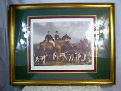 The Heythorp Hunt, John O' Malley And James Scott Fox Hunting With Horses/hounds