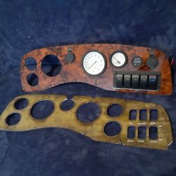Boat Dash Panel Bezel Replacement. Custom Made Instrument Cluster Usa Made.