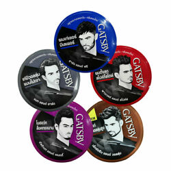 Mens Hair Styling Wax Gatsby Matt Hard Ultimate And Shaggy Messy Spikes Volume