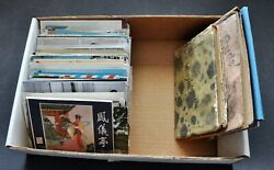 Lot Of 230+ Vintage Collectors Post Cards, Booklets Great Mix Bimk/200623