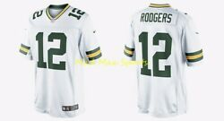 Aaron Rodgers Green Bay Packers Rd Nike Limited Color Rush Sewn On Jersey S-2xl