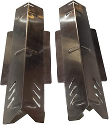 Grill Stainless Steel Heat Plates Replacement 2-pack Part For Dyna-glo Dgf350csp