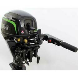 New 9.9 Hp Lehr Outboard Motor Propane Fueled 15 Shaft
