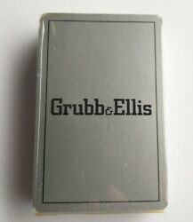 Grubb And Ellis Logo Playing Cards Deck, Sealed, Commercial Real Estate Company