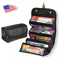 Travel Cosmetic Makeup Bag Toiletry Hanging Zip Organizer Storage Case Pouch US $6.64