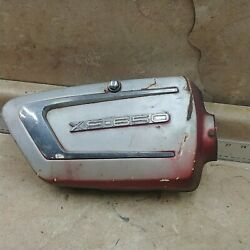 Yamaha 650 Xs1 Xs2 Tx650 Used Right Side Cover 1971 1972 1973 Anx A-2003