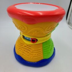Leap Frog Learn And Groove Alphabet Drum English Spanish Music Sounds Lights 10061