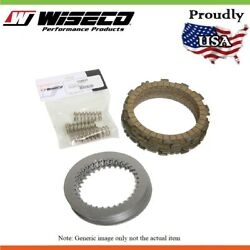 Wiseco Clutch Pack Kit Fibres Steel And Springs For Honda Cr80rb Big Wheel 1997-02