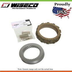 Wiseco Clutch Pack Kit Fibres Steels And Springs For Kawasaki Kx250 250cc 1992-04