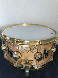 Dw Collectorandrsquos Series Snare Drum Icon Limited 250 Maple Shell Gold Parts 347