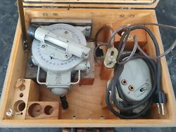 Optical Quantrant Сo-10 Tilt Angle Measurements Very Rare Ussr 1969 Year