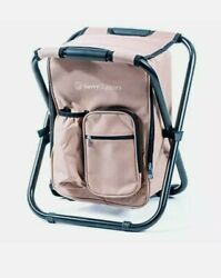 Ultralight Backpack Cooler Chair Compact Lightweight and Portable Folding Stool $55.00