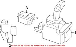 Genuine Oem Automatic Transmission Shift Lever For Bmw 61316832387