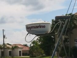 Marine Radar Used Raymarine Rd418d Complete Dome. No Cable.