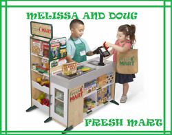 Melissa And Doug Fresh Mart Grocery Store 9340 Free Shipping