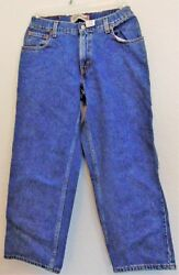 Women Levi's 550 Original Riveted Relaxed Fit Jeans 32 X 27