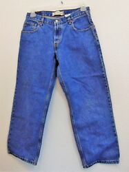Women Levi's 550 Tm Original Riveted Relaxed Fit Jeans 32 X 27