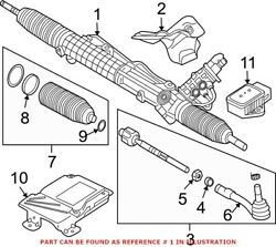 Genuine Oem Rack And Pinion Assembly For Bmw 32106795340
