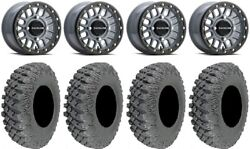 Raceline Podium Bdlk 15 Gy Wheels 35 X-rox Dd Soft Tires Renegade Outlander