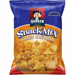 Quaker Baked Cheddar Snack Mix, 1.75 Ounce Pack Of 40