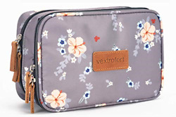 Small Makeup Bag for Purse Travel Cosmetic Bags for Women with Brush Organizer $18.52